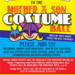 Mother and Son Costume Ball